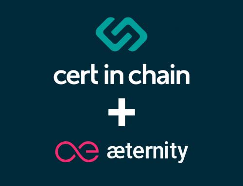 certinchain agrega aeternity como proveedor de blockchain